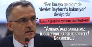 Ağbal'dan Bayburt için yatırım manifestosu