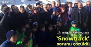 Ağbal'dan kayakçılara iyi haber