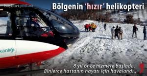 Ambulans helikopter 2 bin hasta kurtardı