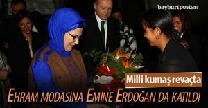 Emine Erdoğan'ın ehramlı kıyafeti dikkat çekti