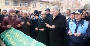 Eski Başkan Bilen için tören düzenlendi