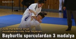 Karadeniz Judo turnuvası Bayburt'ta yapıldı