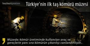Türkiye'nin ilk taş kömürü müzesi