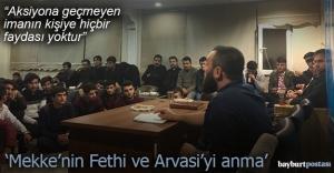 Ülkü Ocaklarından Mekke'nin Fethi ve Arvasi konulu konferans