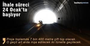 Vauk Tüneli'nin ihale süreci 24 Ocak'ta başlıyor