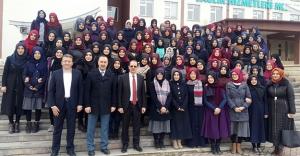 Son sınıf öğrencilerinden üniversiteye ziyaret