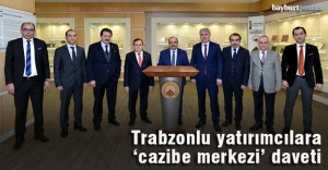 Trabzonlu yatırımcılara Bayburt daveti