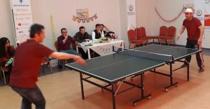 'Aile ve Sosyal Politikalar'dan masa tenisi turnuvası