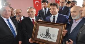 """Bakan Ağbal: """"Bayburt da büyüyecek, Erzurum da"""""""