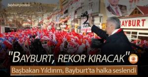 Başbakan Yıldırım, Bayburt#039;ta...