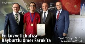 İlk Türk Dünya Hafıza Rekortmeni...