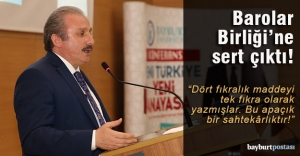 """Şentop'tan """"Yeni Türkiye Yeni Anayasa"""" konferansı"""