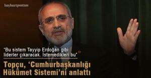 Topçu'dan Cumhurbaşkanlığı Hükümet Sistemi konferansı
