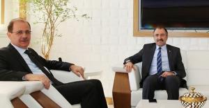 Yavilioğlu'ndan Rektör Coşkun'a ziyaret