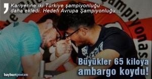 Yıldızoğlu'ndan iki Türkiye şampiyonluğu