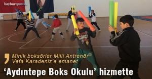 Aydıntepe'de boks okulu açıldı