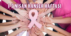 Hanci'dan '1-7 Nisan Ulusal Kanser Haftası' açıklaması