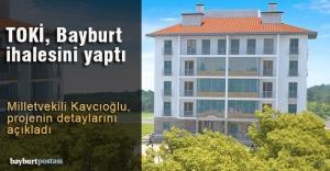 TOKİ'den Bayburt'a 402 konut