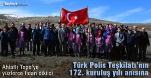 Türk Polis Teşkilatı fidan dikti