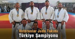 Veteranlar Judo Takımı Türkiye Şampiyonu