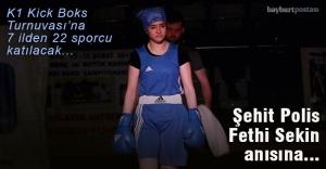 Bayburt'ta Kick Boks Turnuvası