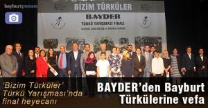 'Bizim Türküler' Türkü Yarışması'nda final heyecanı