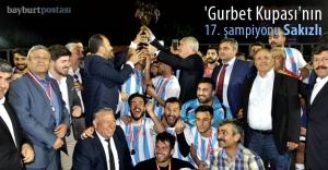 'Gurbet Kupası'nın 17. şampiyonu Sakızlı oldu
