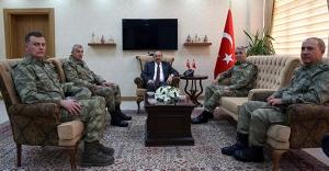 Orgeneral Savaş'tan Ustaoğlu'na ziyaret