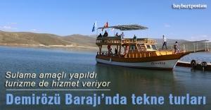 Sulama amaçlı yapıldı turizme de hizmet veriyor