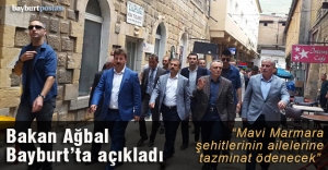 Bakan Ağbal#039;dan #039;Mavi Marmara#039;...