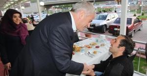 Başkan Memiş, engellileri ağırladı