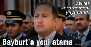 Bayburtun yeni Valisi Ali Hamza...