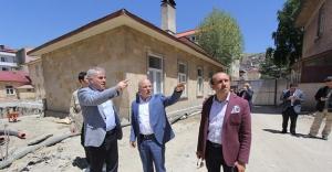 Mehmet Sekmen'den Bayburt Belediyesi'ne ziyaret