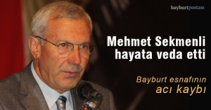 Mehmet Sekmenli hayata veda etti