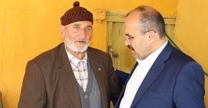 Şehit Fatih Kostik'in ailesine bayram ziyareti