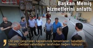 Başkan Memiş, belediye hizmetlerini gazetecilere anlattı
