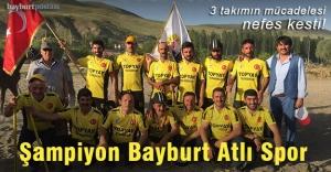 Ciritte kazanan Bayburt Atlı Spor Kulübü