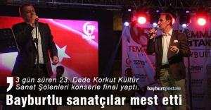 'Dede Korkut'a konserli final