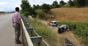 Genç çift trafik kazasında can verdi!