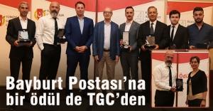 TGC'den Bayburt Postası'na 'Jüri Özel Ödülü'