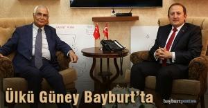 İçişleri eski Bakanı Güney'den Vali Pehlivan'a ziyaret