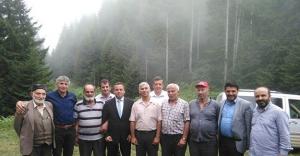Kaymakam Haskırış sınır köylerinde