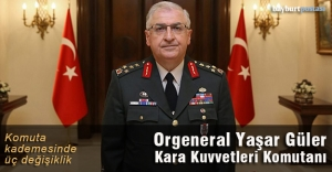 Kara Kuvvetleri Komutanı Orgeneral Yaşar Güler