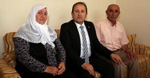 Vali Pehlivan, Şehit Hakan Öner'in ailesini ziyaret etti