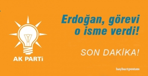 AK Parti İl Başkanı belli oldu!