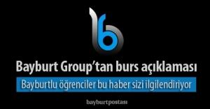 Bayburt Grup#039;un burs başvuruları...
