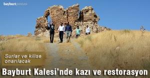Bayburt Kalesi'nde kazı ve restorasyon