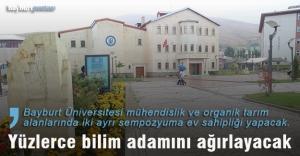 Bayburt Üniversitesi yüzlerce bilim adamını ağırlayacak
