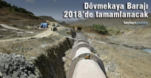 Dövmekaya Barajı 2018 sonunda tamamlanacak