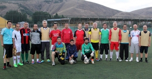 Haftalık program futbolla başladı